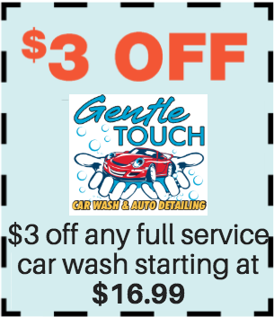 $3 OFF any Full Service Car Wash Starting at $16.99